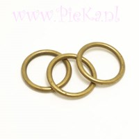 Metallook Ring Brons 18 mm