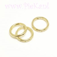 Metallook Ring Goud 12 mm