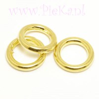 Metallook Ring Goud 15 mm
