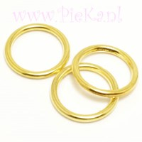 Metallook Ring Goud 18 mm