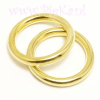 Metallook Ring Goud 25 mm