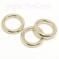 Metallook Ring Zilver 15 mm