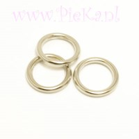 Metalook Ring Zilver 12 mm