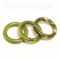 Ring Groen Acryl 18 mm
