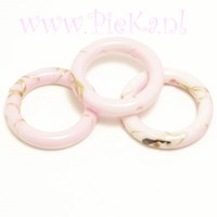 Ring Roze Acryl 18 mm