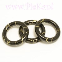Ring Zwart Acryl 18 mm