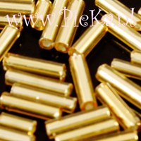 Bugle Beads 7 mm bij 2 mm G...