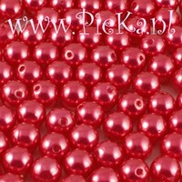 Parel Acryl Hard Roze 8 mm
