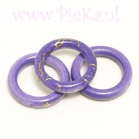 Ring Paars Acryl 18 mm